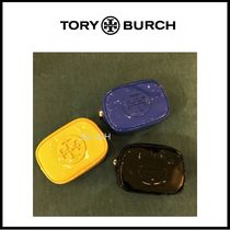 【TORY BURCH】 STACKED PATENT ポーチ