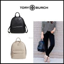 【TORY BURCH】 LEATHER BACKPACK