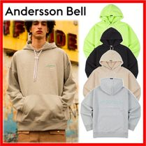 【ANDERSSON BELL】★RUNNING EMBROIDERY ANDERSSON HOODIE★4色