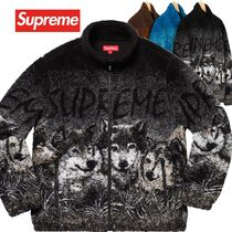 Supreme シュプリーム Wolf Fleece Jacket SS 19 WEEK 3