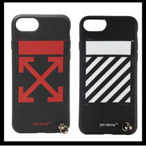 【 OFF-WHITE】iPhone 8  STRAP COVER【送関込】
