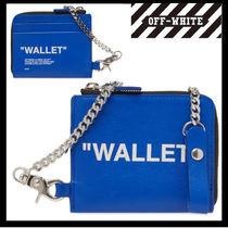 【 OFF-WHITE】QUOTE ZIP CHAIN WALLET【送関込】