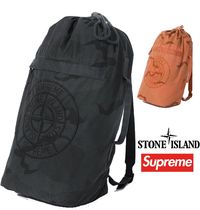 Supreme Stone Island Camo Backpack SS 19 WEEK 3