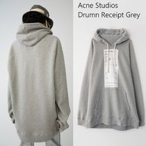 Acne Drum Receipt Hoodie レシートプリントリラックスパーカー