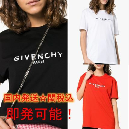 GIVENCHY Tシャツ・カットソー GIVENCHY★即完売★レディスロゴ Tシャツ送関込
