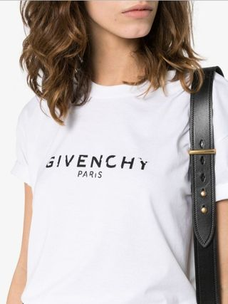 GIVENCHY Tシャツ・カットソー GIVENCHY★即完売★レディスロゴ Tシャツ送関込(6)