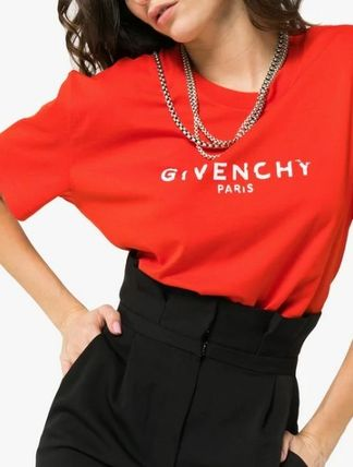 GIVENCHY Tシャツ・カットソー GIVENCHY★即完売★レディスロゴ Tシャツ送関込(14)