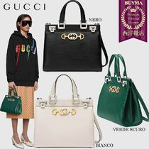【正規品保証】GUCCI★19春夏★ZUMI GRAINY LEATHER HANDLE BAG