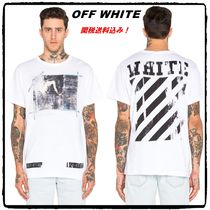芸能人愛用!超レア!OFF-WHITE CARAVAGGIO TEE white 16ss