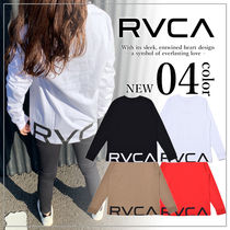 RVCA(ルーカ) Tシャツ・カットソー 【関税込み】RVCA ルーカ バックプリントロゴ フィット ロンT