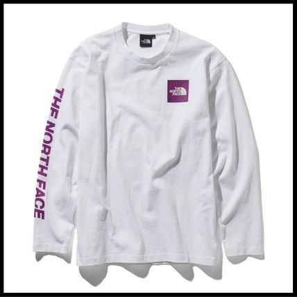THE NORTH FACE Tシャツ・カットソー 国内発送・正規品★THE NORTH FACE★L/S SQUARE LOGO SLEEVE TEE(18)