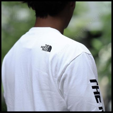 THE NORTH FACE Tシャツ・カットソー 国内発送・正規品★THE NORTH FACE★L/S SQUARE LOGO SLEEVE TEE(3)