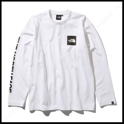 THE NORTH FACE Tシャツ・カットソー 国内発送・正規品★THE NORTH FACE★L/S SQUARE LOGO SLEEVE TEE(8)