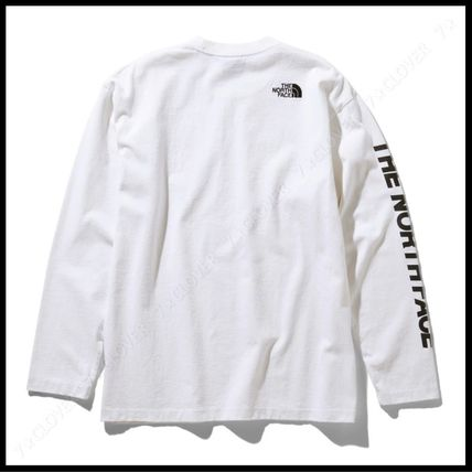THE NORTH FACE Tシャツ・カットソー 国内発送・正規品★THE NORTH FACE★L/S SQUARE LOGO SLEEVE TEE(9)