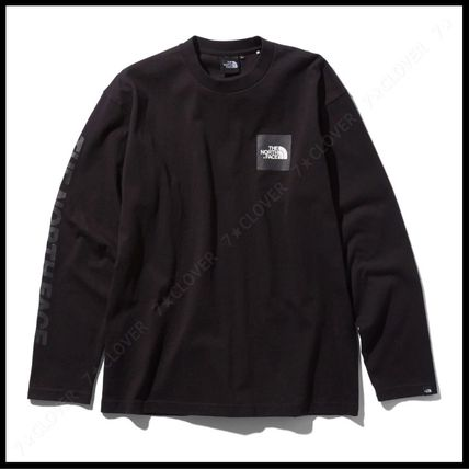 THE NORTH FACE Tシャツ・カットソー 国内発送・正規品★THE NORTH FACE★L/S SQUARE LOGO SLEEVE TEE(10)