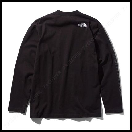 THE NORTH FACE Tシャツ・カットソー 国内発送・正規品★THE NORTH FACE★L/S SQUARE LOGO SLEEVE TEE(11)