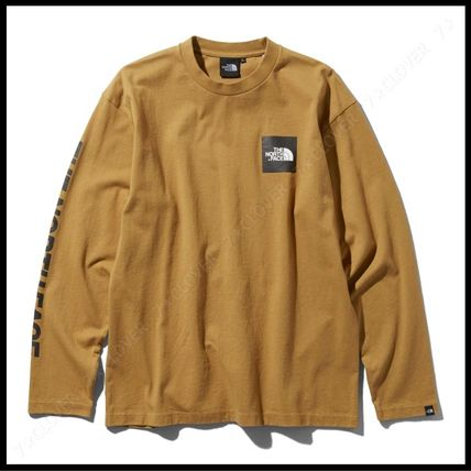 THE NORTH FACE Tシャツ・カットソー 国内発送・正規品★THE NORTH FACE★L/S SQUARE LOGO SLEEVE TEE(12)