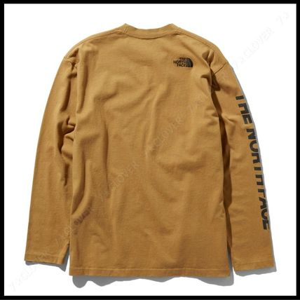 THE NORTH FACE Tシャツ・カットソー 国内発送・正規品★THE NORTH FACE★L/S SQUARE LOGO SLEEVE TEE(13)