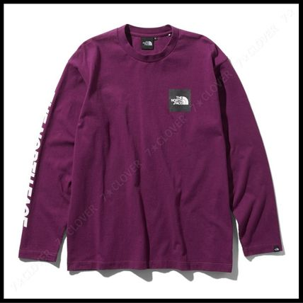 THE NORTH FACE Tシャツ・カットソー 国内発送・正規品★THE NORTH FACE★L/S SQUARE LOGO SLEEVE TEE(14)