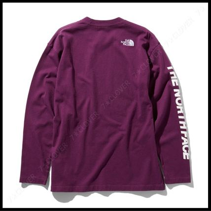 THE NORTH FACE Tシャツ・カットソー 国内発送・正規品★THE NORTH FACE★L/S SQUARE LOGO SLEEVE TEE(15)