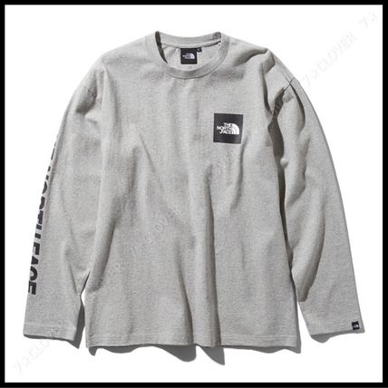 THE NORTH FACE Tシャツ・カットソー 国内発送・正規品★THE NORTH FACE★L/S SQUARE LOGO SLEEVE TEE(16)