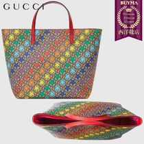 【正規品保証】GUCCI★19春夏★CHILDREN'S GG RAINBOW STAR TOTE