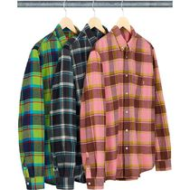 SUPREME Plaid Flannel Shirt SS19 Week3
