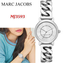 特価! MARC JACOBS  Classic Silver-Tone Watch MJ3593