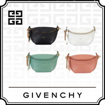 19SS 《GIVENCHY 》WHIP BUM BAG IN SMOOTH LEATHER