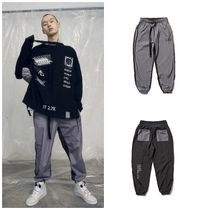 日本未入荷OVERRの19SS HALF AND HALF JOGGER PANTS