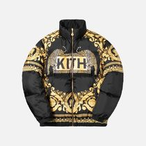 即納国内発送 KITH X VERSACE REVERSIBLE DOWN JACKET コラボ