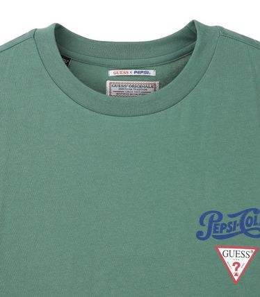 Guess Tシャツ・カットソー 人気☆【GUESS×PEPSI】☆登板 グラフィック 半袖 Tシャツ ☆3色(2)