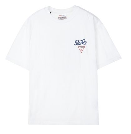 Guess Tシャツ・カットソー 人気☆【GUESS×PEPSI】☆登板 グラフィック 半袖 Tシャツ ☆3色(10)