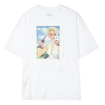 Guess Tシャツ・カットソー 人気☆【GUESS×PEPSI】☆登板 グラフィック 半袖 Tシャツ ☆3色(11)