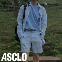 ASCLO(エジュクロ)★OVER FIT LINEN SUMMER SET UP 2色