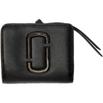 Marc Jacobs☆Snapshot Mini Leather Wallet black