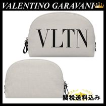 VALENTINO(ヴァレンティノ) メイクポーチ VALENTINO GARAVANI VLTN beauty case in canvas