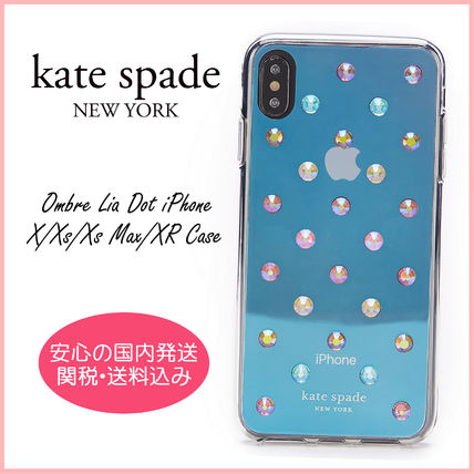 kate spade new york スマホケース・テックアクセサリー 【国内発送】ombre lia dot iphone  X/Xs/Xs Max/XR case セール