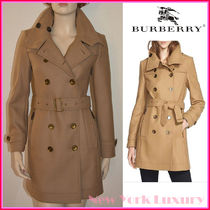 BURBERRY★素敵! DAYLESMOORE WOOL TRENCH COAT