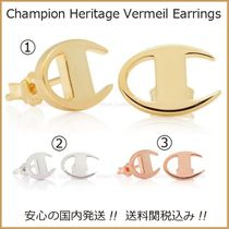 送料税込【Champion×King Ice】 Heritage Vermeil ピアス☆3色