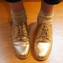 パリ発!La Redoute Lace-Up Brogues with Round Toe