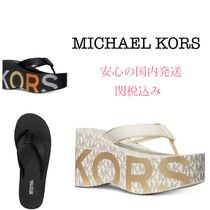 *国内発送* NEW ウエッジ MK Benny Flip-Flop Wedge Sandals