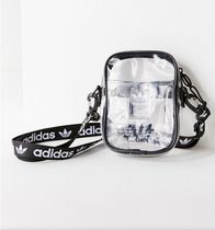 Urban Outfitters(アーバンアウトフィッターズ) ショルダーバッグ・ポシェット ★Urban Outfitters&adidas★コラボ商品クリア斜めがけバッグ
