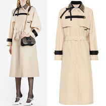 PR1884 STUDDED TRENCH COAT