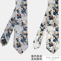 TED BAKER(テッドベーカー) ネクタイ 関税込*TED BAKER*フローラル シルク ネクタイ