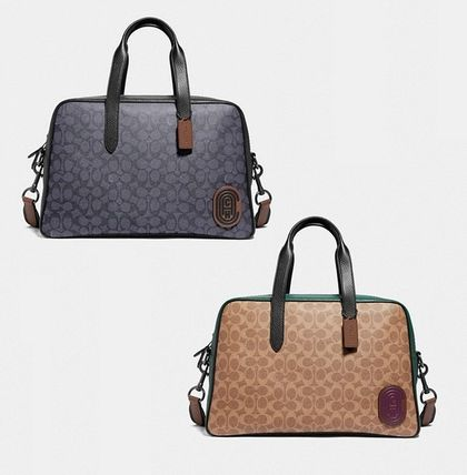49f5aa8ab7 Coach ◆ 73854 Metropolitan soft carryall signature canvas