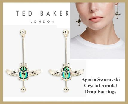 TED BAKER☆Agoria☆Crystal Amulet ピアス