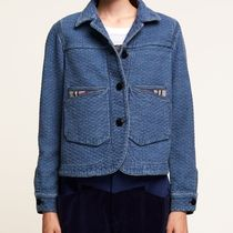 """CLOSED(クローズド) ジャケット """"CLOSED×F.GIRBAUD"""" Doubleface Jacket Blue"""