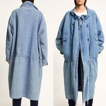 """CLOSED(クローズド) コート """"CLOSED×F.GIRBAUD"""" Doubleface Parka Coat Blue"""