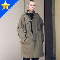 MASSNOUN(マスノウン) コートその他 ◇MASSNOUN◇ SL LOGO M-51 FISHTAIL LONG コート_khaki